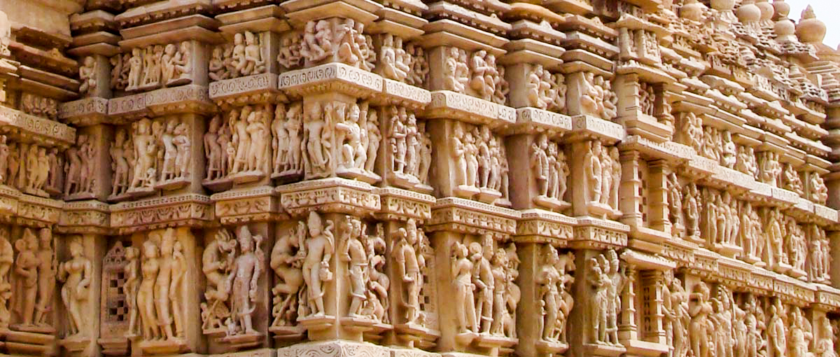 Temple Carvings Khajuraho