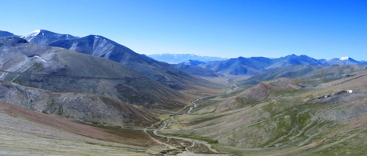 View from Tanglang La Ladakh