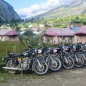 Motorcycles at Pispa Ladakh
