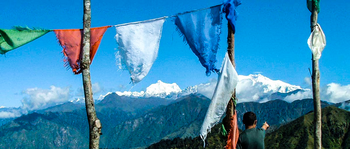 Prayer Flags Singalila Ridge Sikkim